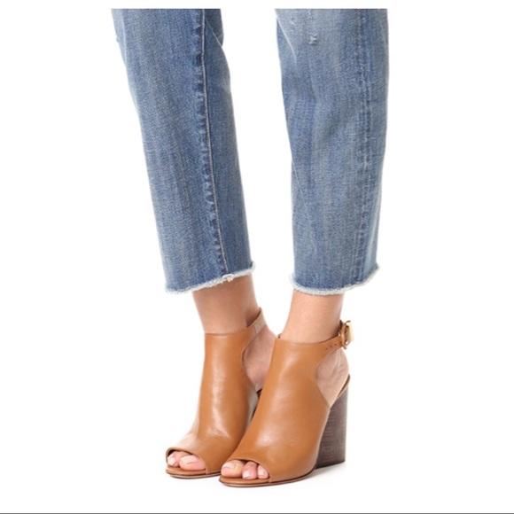 ba771f77728 💕HP💕NIB Tory Burch Grove Peep Toe Heel Booties
